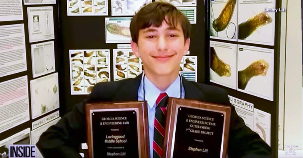 7th Grader Wins Science Fair with Research on Green Tea as a Breast Cancer Treatment