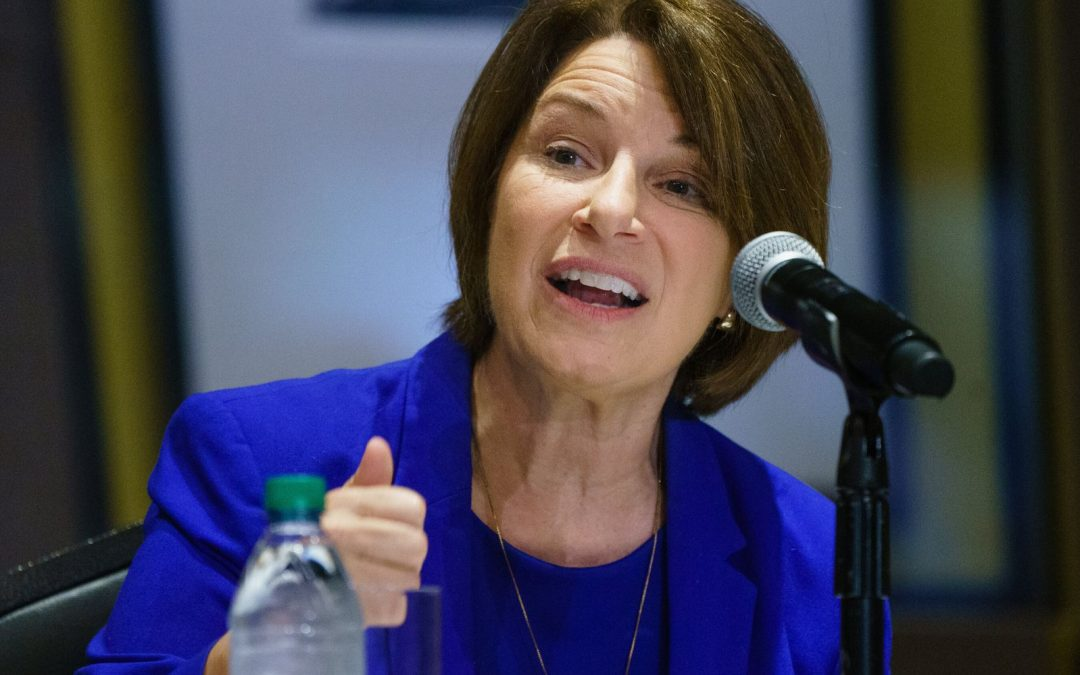 Sen. Amy Klobuchar Reveals Breast Cancer Surgery
