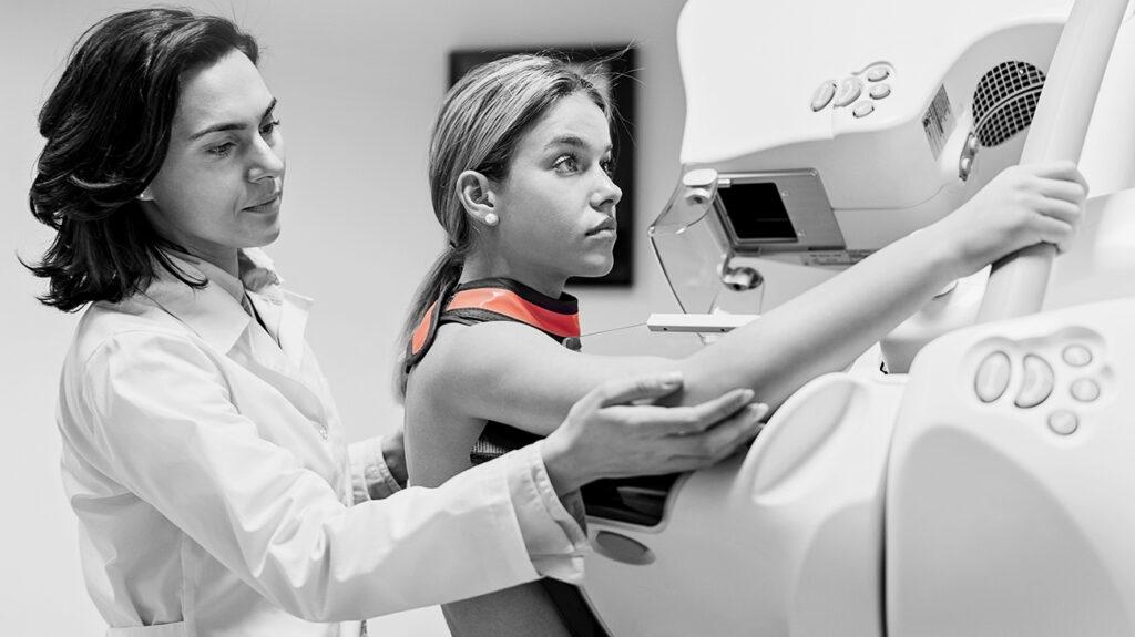 Do mammograms cause cancer?